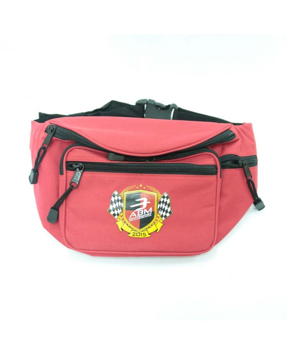Red Waist Bag ABM Motorsport