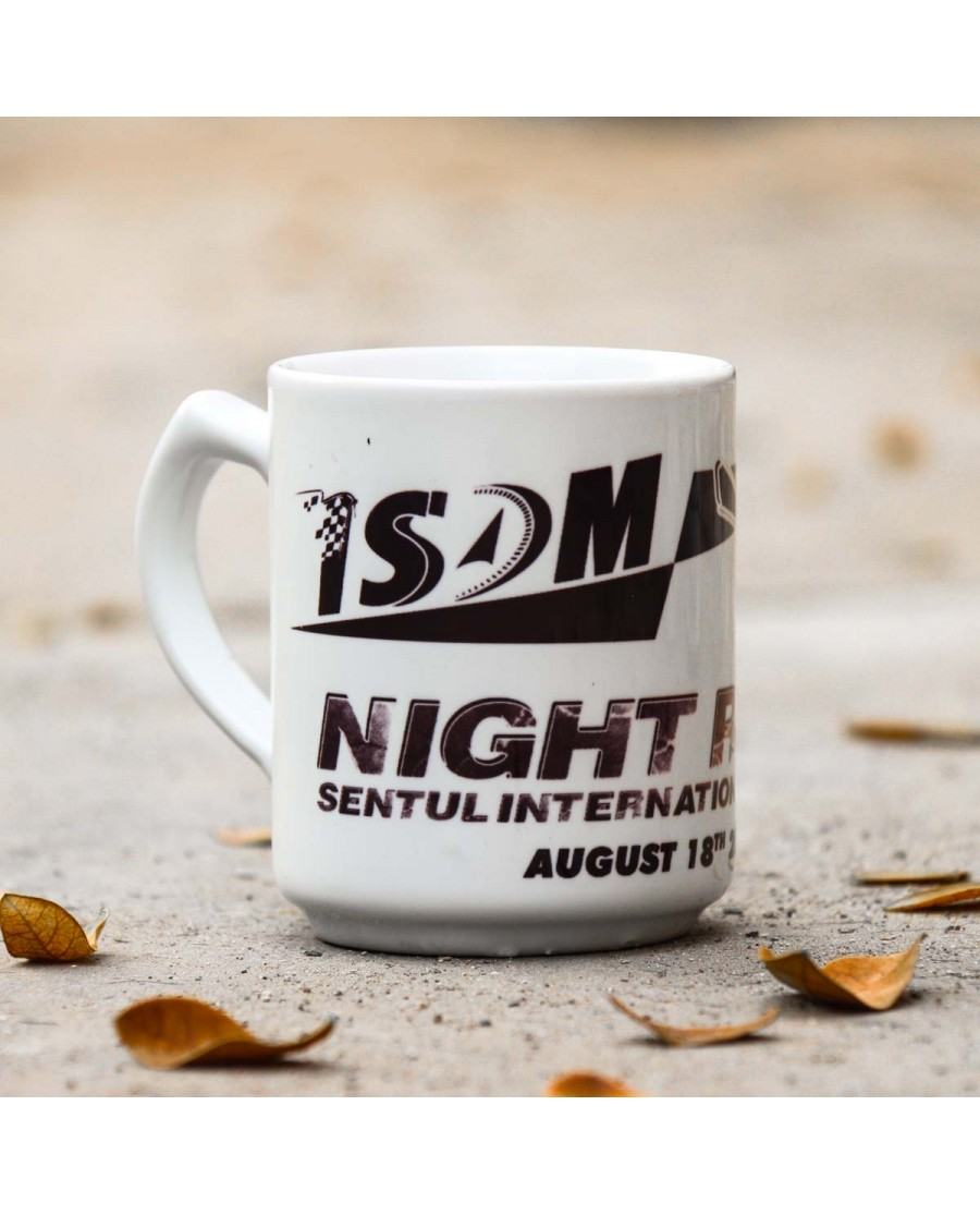 Night Race Mug Black
