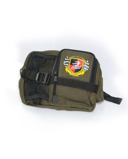Green Army Waist Bag