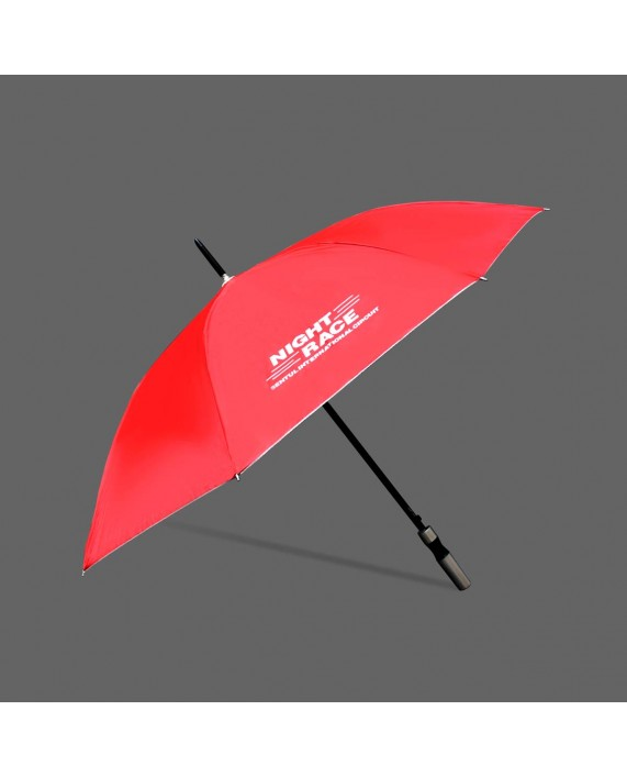 Night Race Umbrella Red