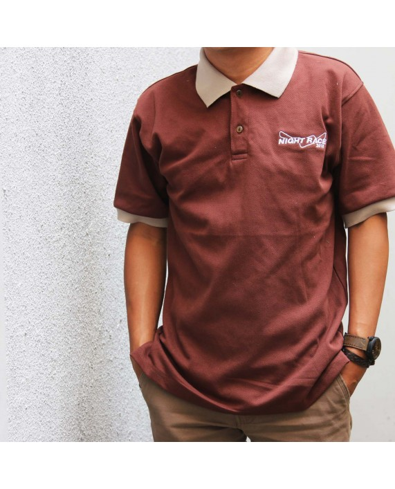 Polo Shirt Night Race Brown