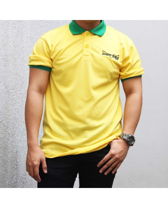 Polo Shirt Night Race Yellow