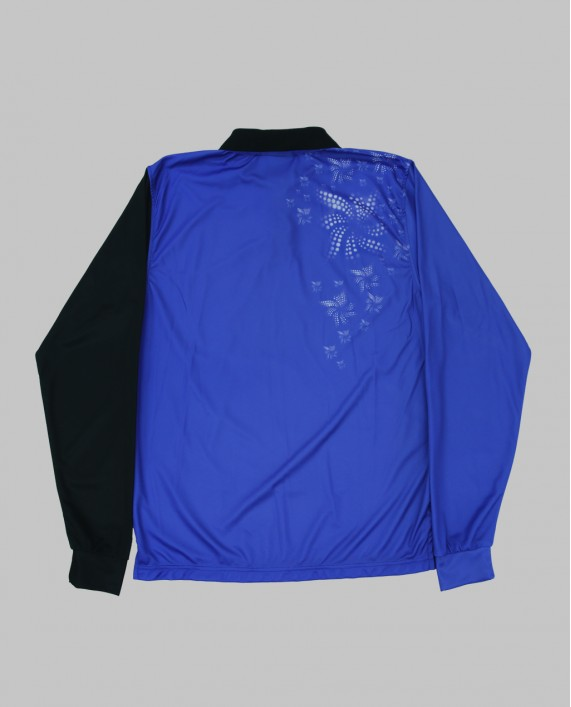 LONG SLEEVE BLUE FLOWER