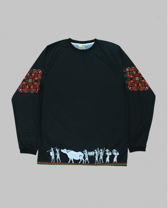 LONG SLEEVE TORAJA BLACK